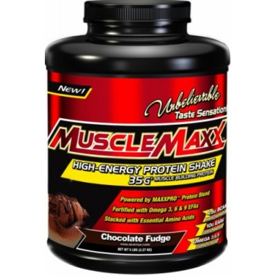 MuscleMaxx Protein Powder 5lbs: Buy 1 Get 1 FREE