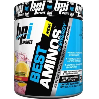 BPI Best Aminos w/ Energy 30 Servings: BUY 1 GET 1 FREE!