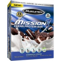 MuscleTech Mission1 Bars, 12 Bars