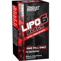 Nutrex Lipo-6 Black UC, 60 Capsules