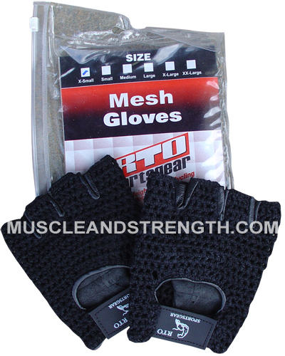 Mesh Workout Gloves