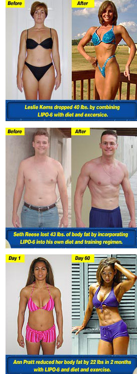 Lipo-6 Fat Burner Results