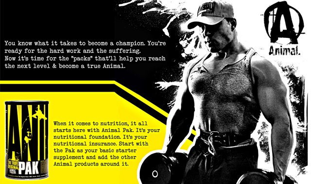 Animal Pak by Universal Nutrition: Lowest Prices at Muscle