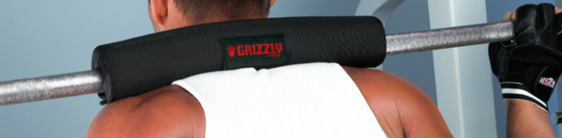 Grizzly Fitness Barbell Pad