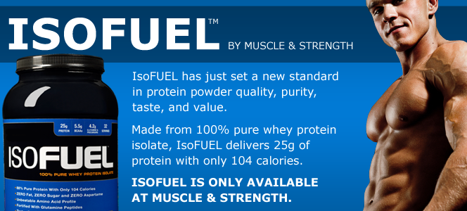 IsoFUEL From Muscle & Strength