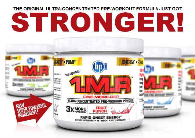 BPI Sports 1.M.R. New Formula