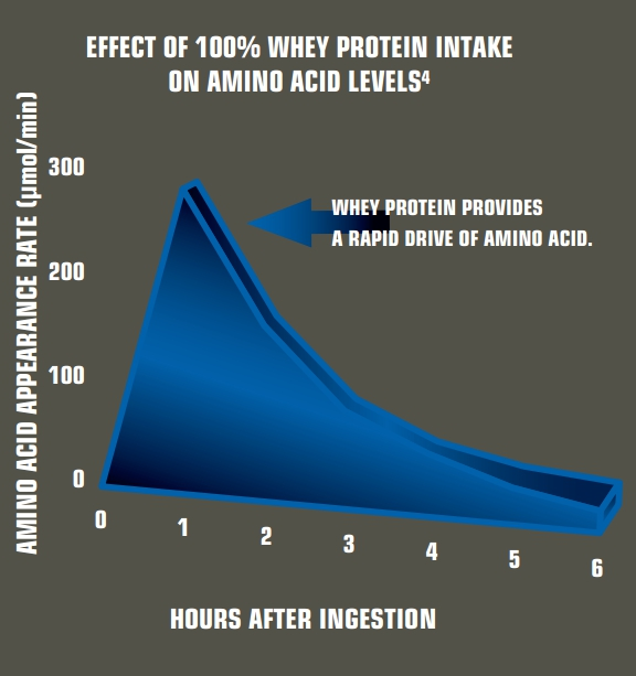 Twinlab 100% Whey Protein Fuel Amino Acid Chart