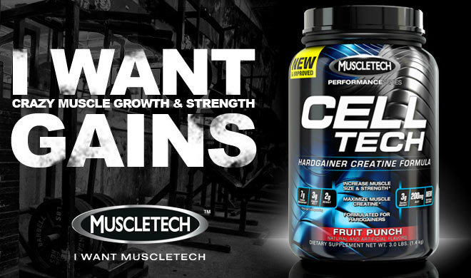 MuscleTech Cell-Tech Performance Series Banner