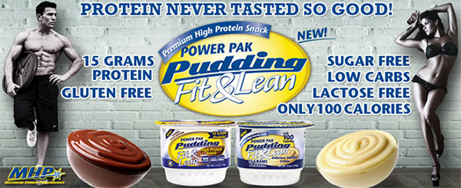 MHP Fit & Lean Power Pak Pudding