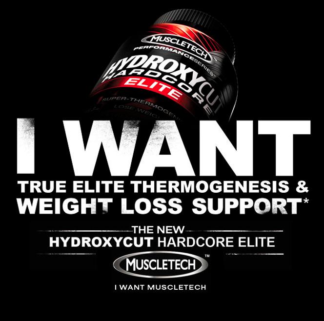 Hydroxycut Hardcore Elite Footer