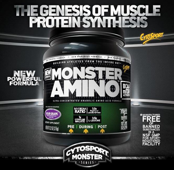 CytoSport Monster Amino Header