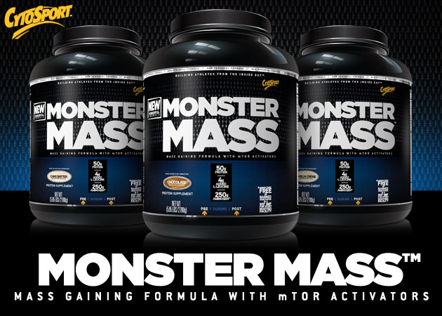 CytoSport Monster Mass Header