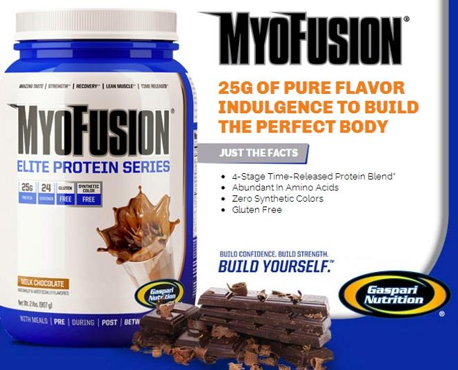 Gaspari MyoFusion Elite Protein