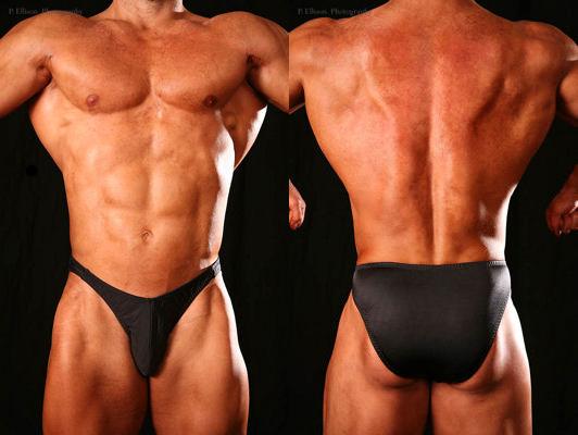 Men's Standard Cut Posing Trunks