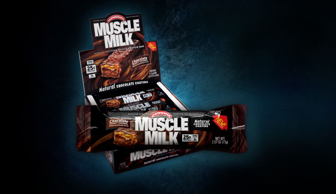 CytoSport Muscle Milk Bars Footer