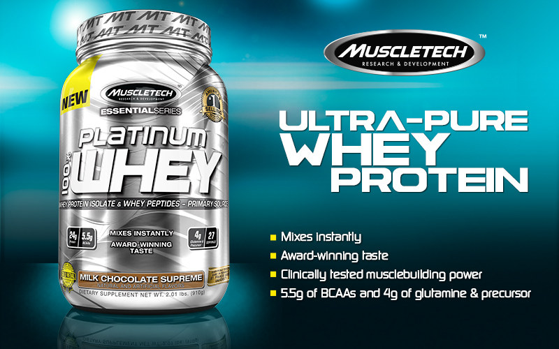 Platinum 100% Whey by MuscleTech: Lowest Prices at Muscle ...
