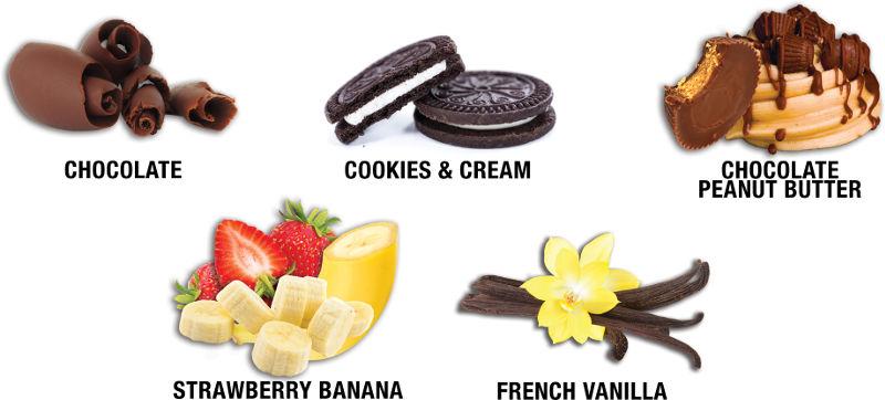 QuickMass Flavors