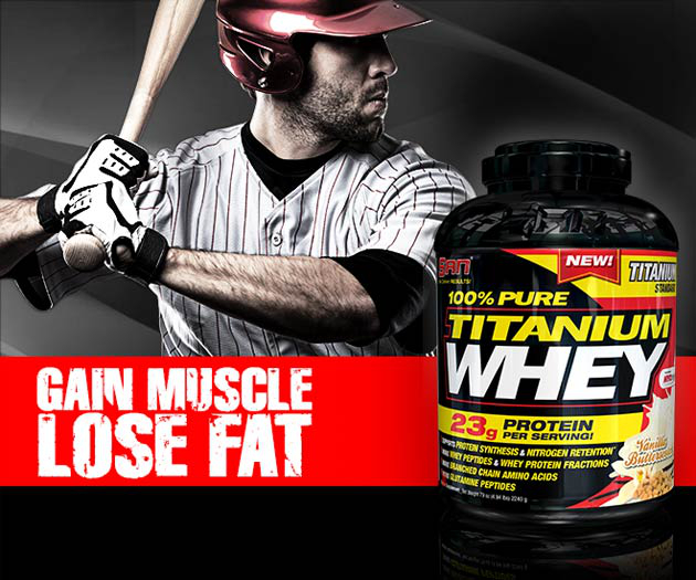 100% Pure Titanium Whey By SAN: Lowest Prices At Muscle