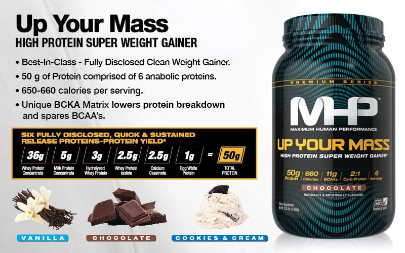 MHP Up Your Mass Header